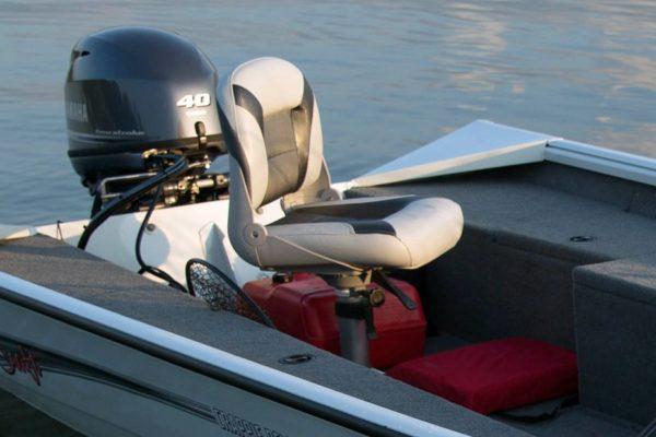 Alumacraft Crappie Deluxe stol
