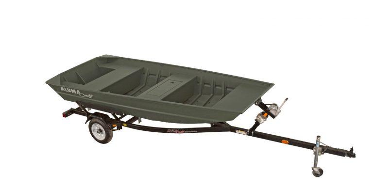 alumacraft jon 1648 båt trailer