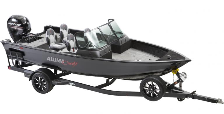 Alumacraft Shadow Voyageur 175 Sport båt trailer