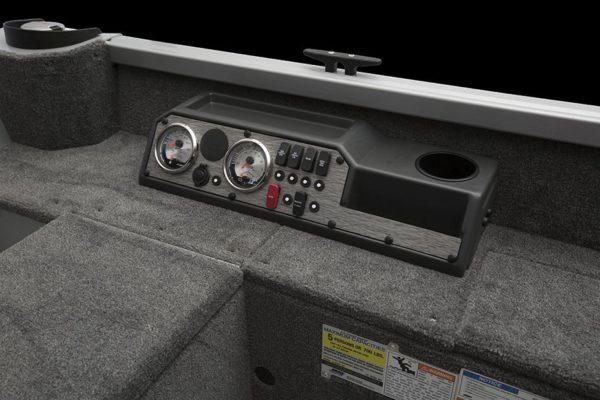 Classic 165 Tiller kontrollpanel