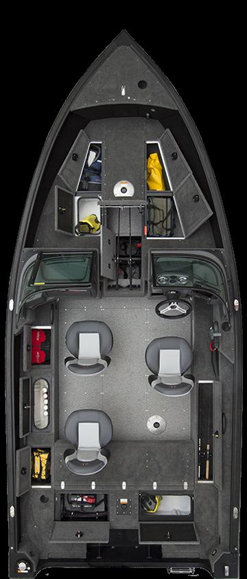 alumacraft competitor 185 sport layout öppen