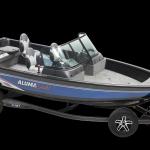 alumacraft competitor 185 sport trailer båt