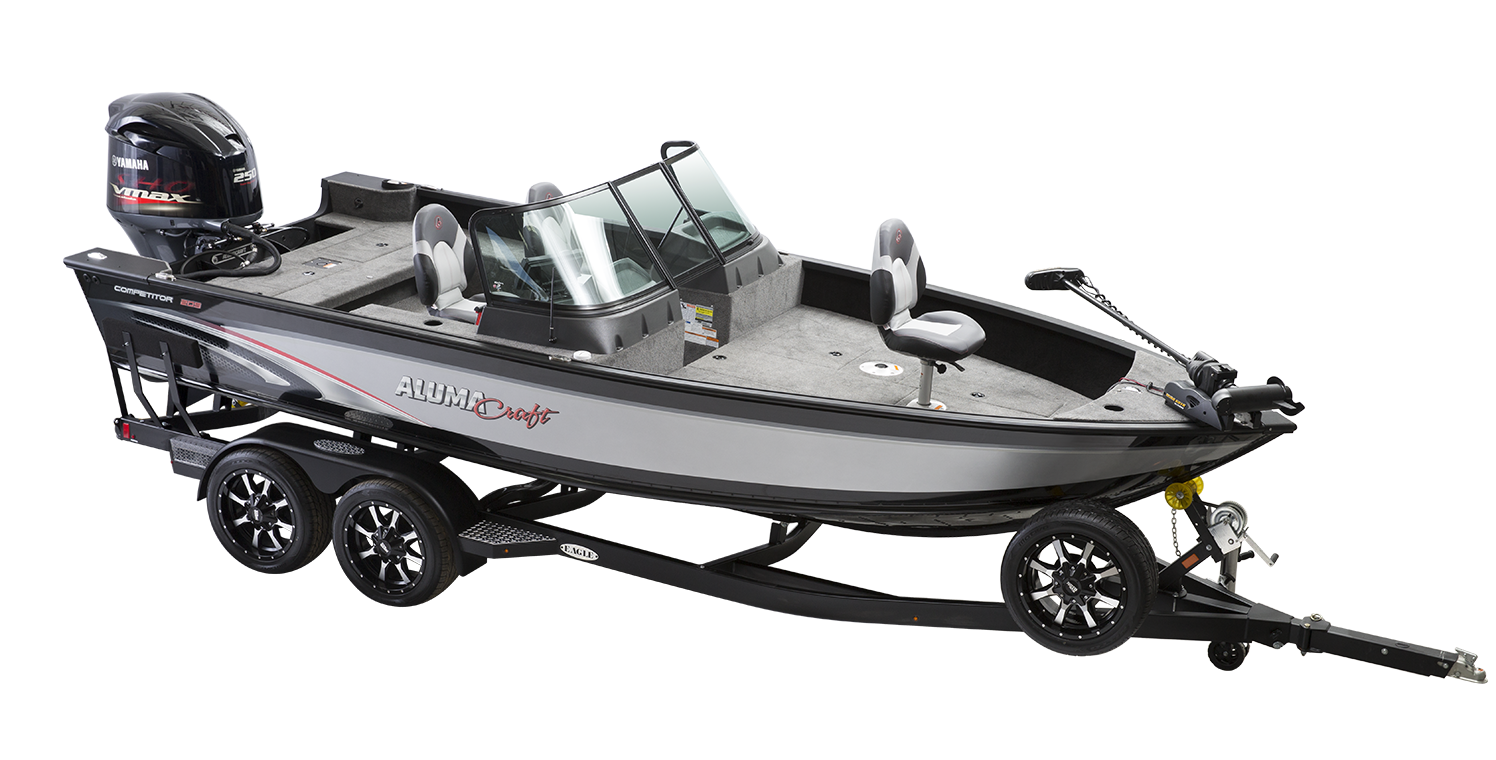 alumacraft competitor 205 sport trailer båt