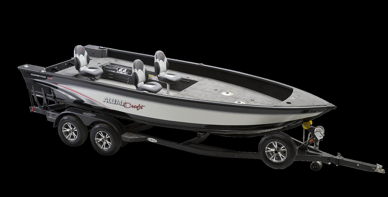 Alumacraft Competitor 205 Tiller trailer båt
