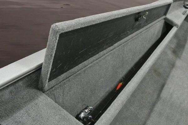 Alumacraft Crappie Deluxe spöförråd