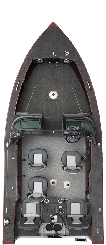 Alumacraft Edge 175 Sport layout stängd