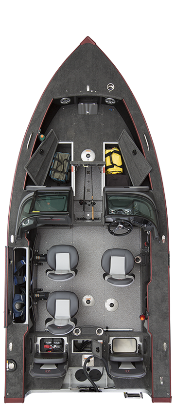 Alumacraft Edge 175 Sport layout öppen