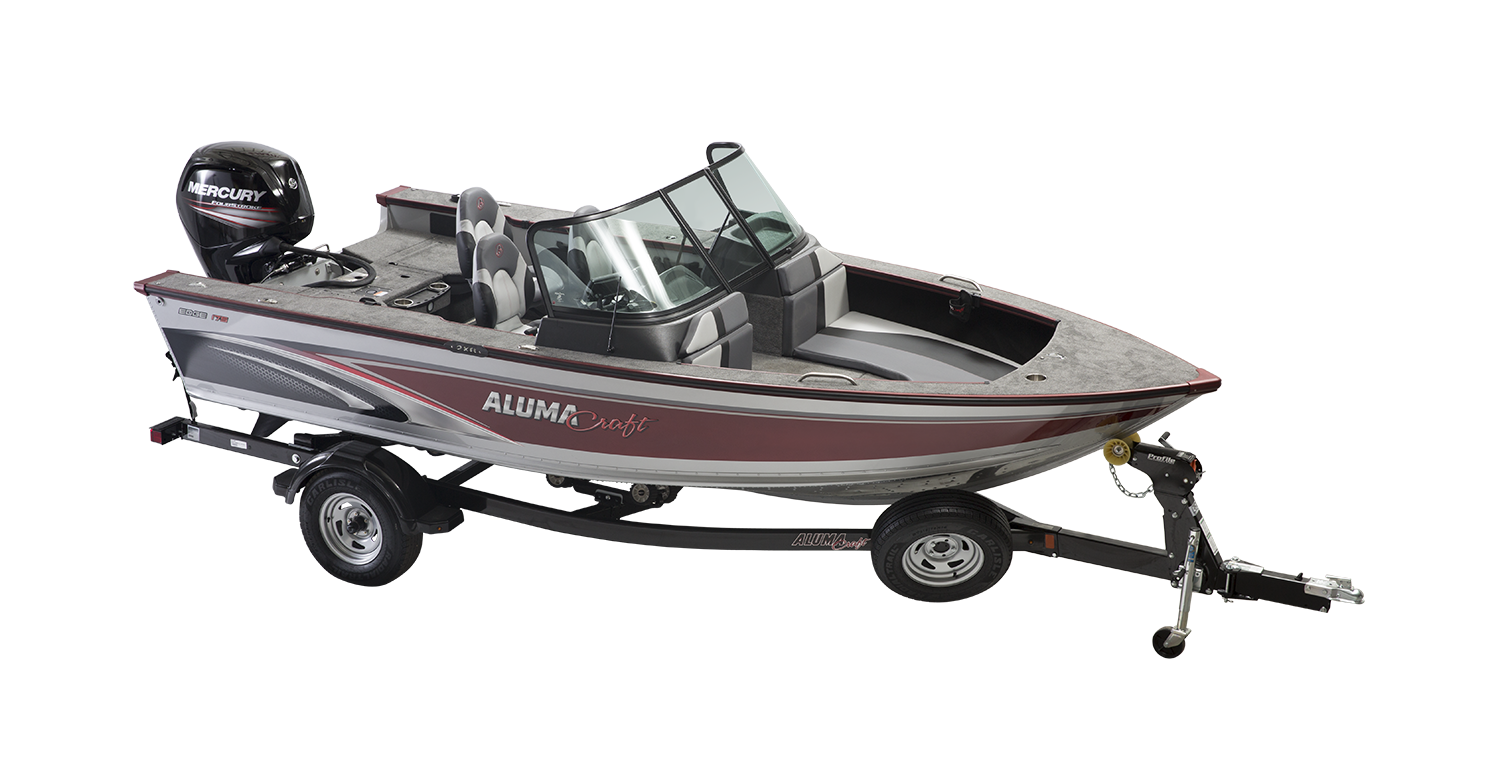 Alumacraft Edge 175 Sport trailer båt