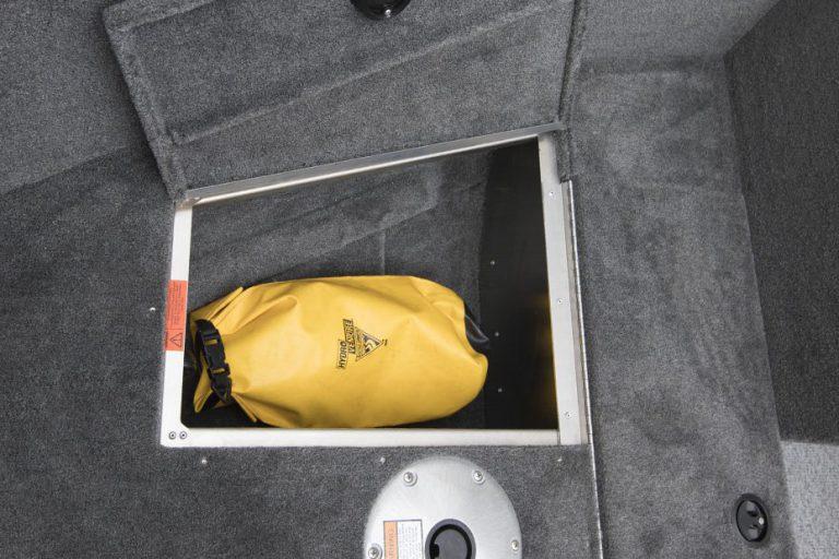Alumacraft Escape 145 CS förvaring