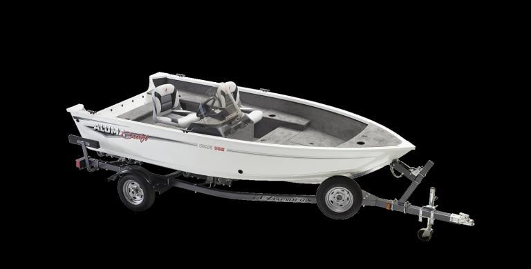 Alumacraft Escape 145 CS trailer båt