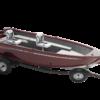 Alumacraft Escape 165 Tiller trailer båt