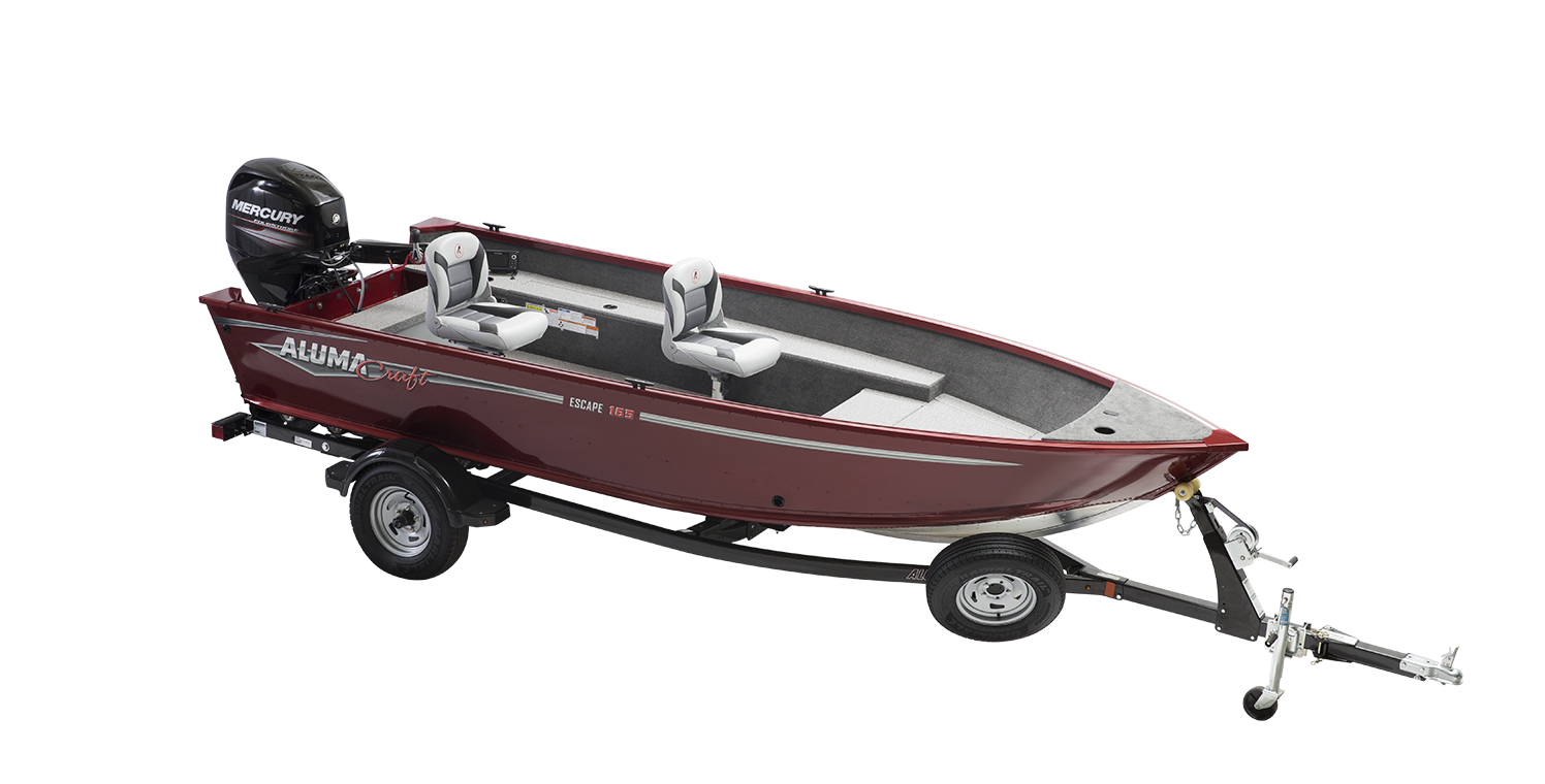 Alumacraft Escape 165 Tiller trailer båt