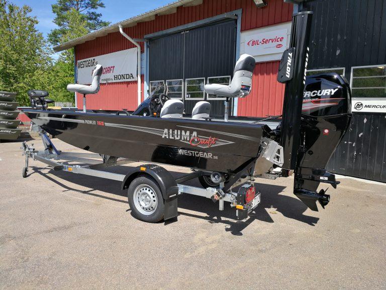alumacraft prowler 165 båt boat