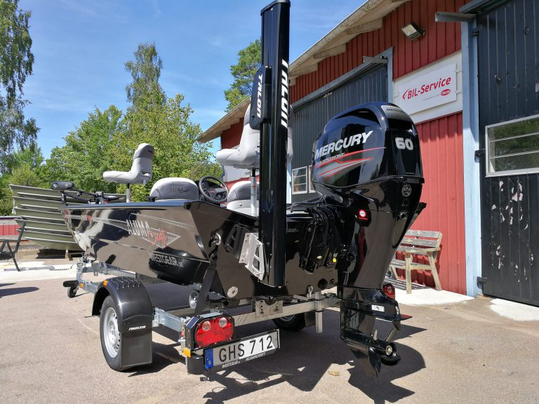 alumacraft prowler 165 båt boat talon