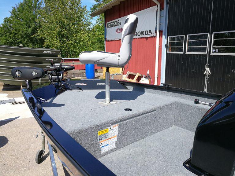 alumacraft prowler 165 kastdäck stol