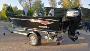 Alumacraft Escape 145 CS båt