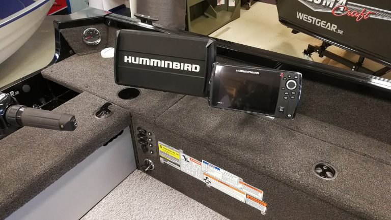 Alumacraft Escape 165 Tiller ekolod humminbird