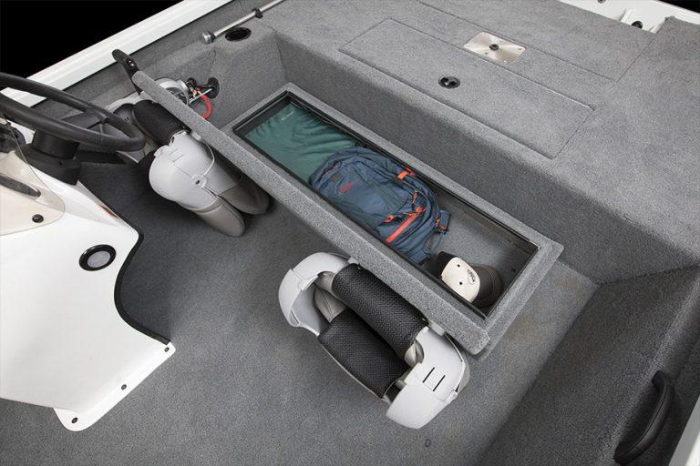 alumacraft prowler 175 boat båt förvaring