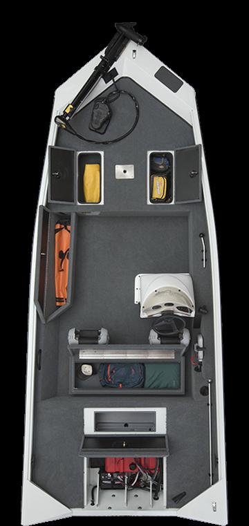 alumacraft prowler 175 boat båt layout öppen