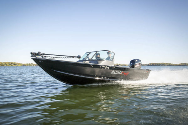 Alumacraft Voyageur 175 Sport Shadow Series båt