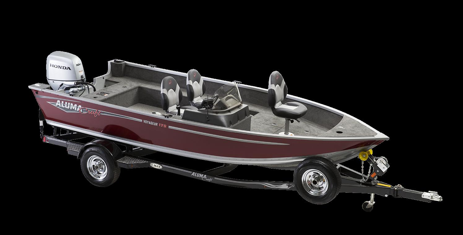 Alumacraft Voyageur 175 CS båt trailer