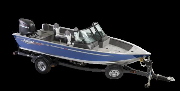 Alumacraft Voyaguer 175 Sport båt trailer