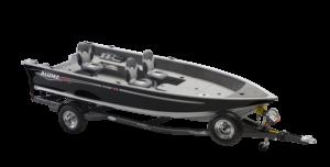 Alumacraft Voyageur 175 Tiller båt trailer