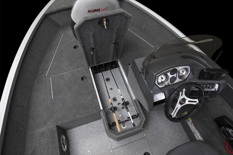 Alumacraft Voyageur 175 CS spöförråd