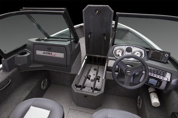 Alumacraft Voyaguer 175 Sport förvaring spöförråd