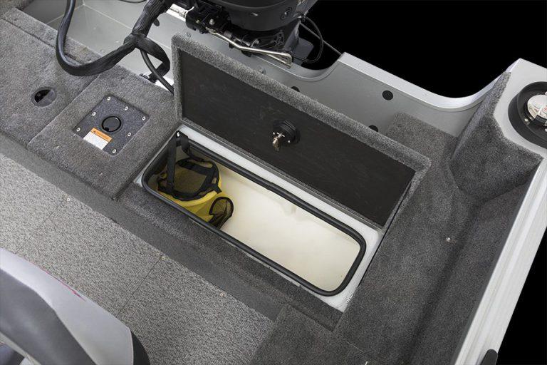 Alumacraft Voyaguer 175 Sport livewell