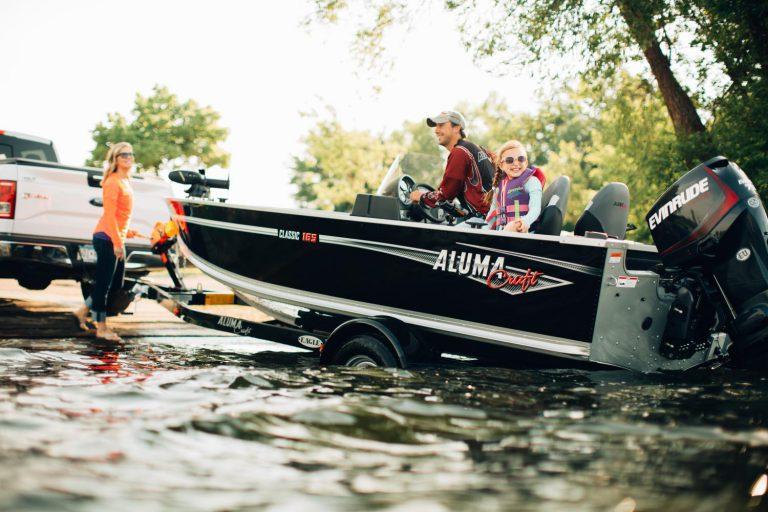classic 165 cs alumacraft båt boat