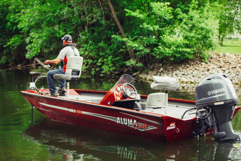alumacraft prowler 165 boat båt