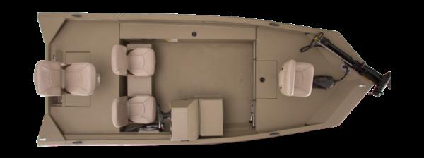 alumacraft mw 1756 aw sc båt